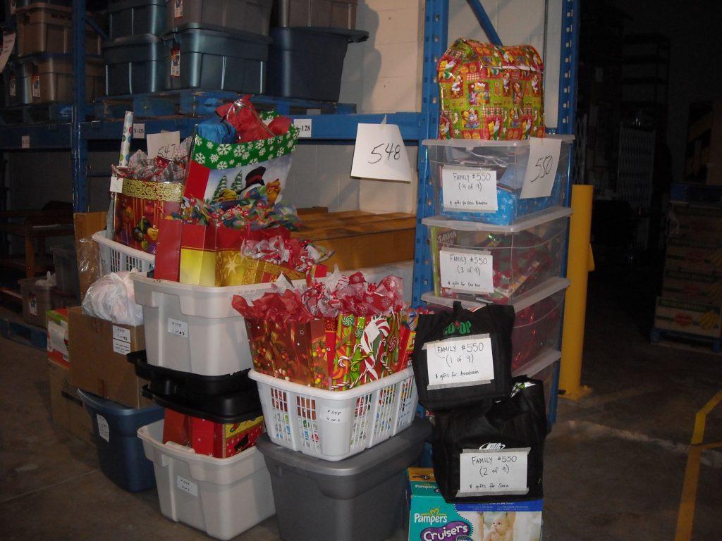 VV food bank donations