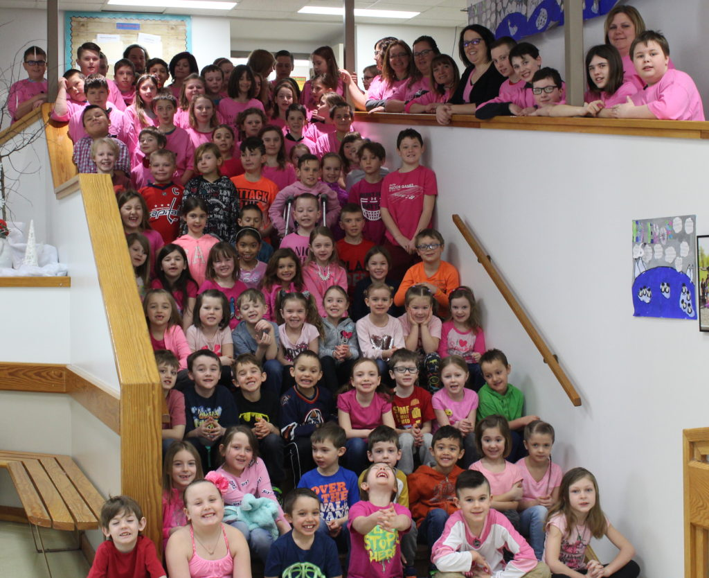 Busby Pink shirt day 2018
