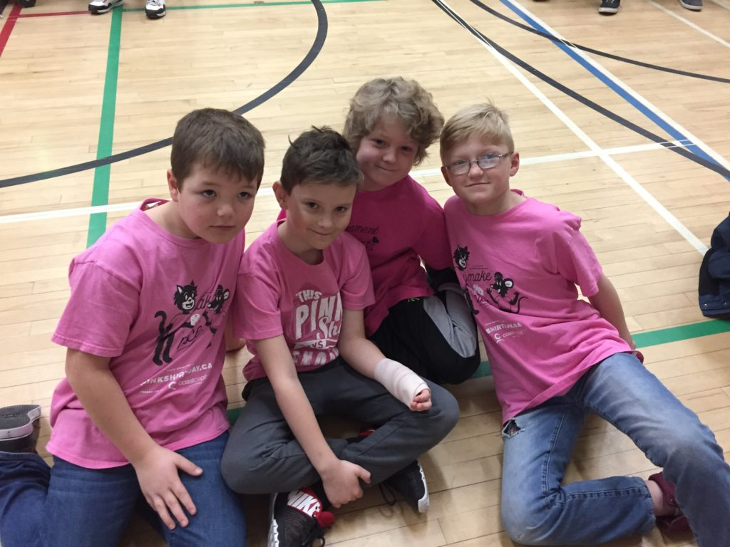 Fort school pink shirt day 2018