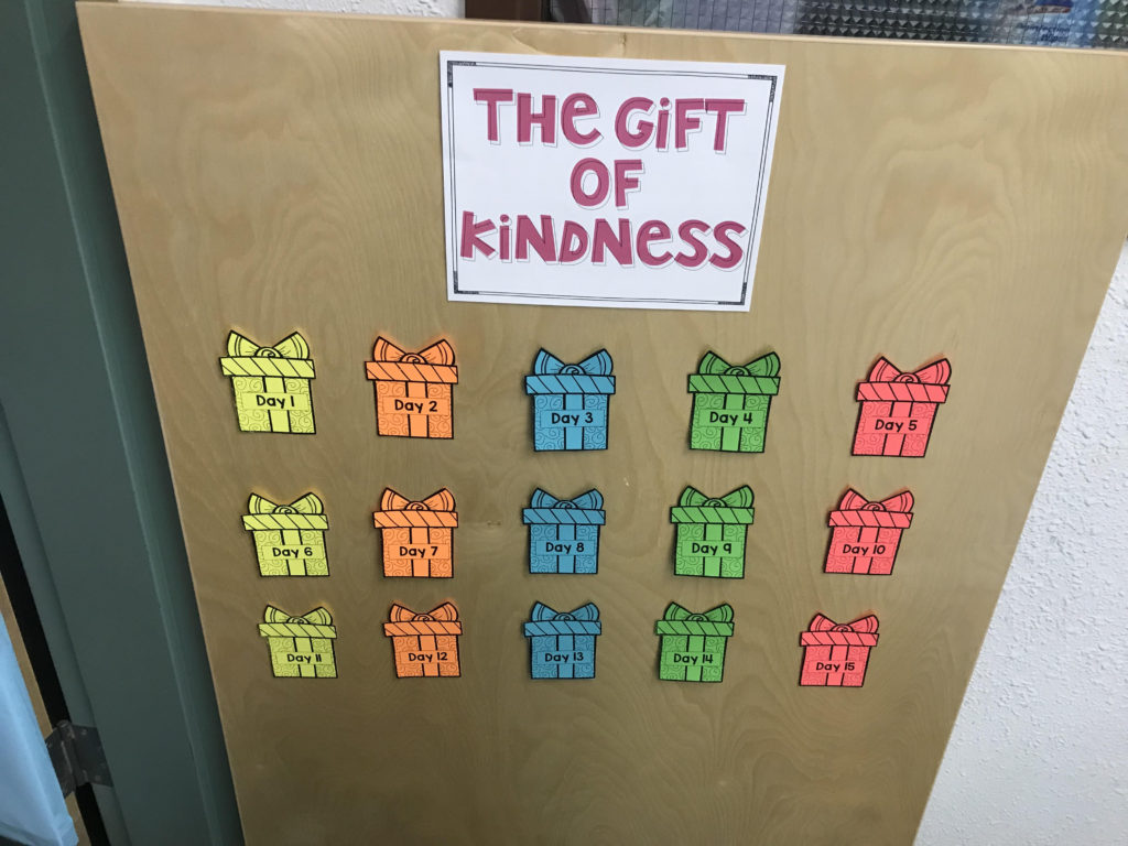 the gift of kindness 15 days